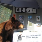 The new BEaR educational booth, 2008